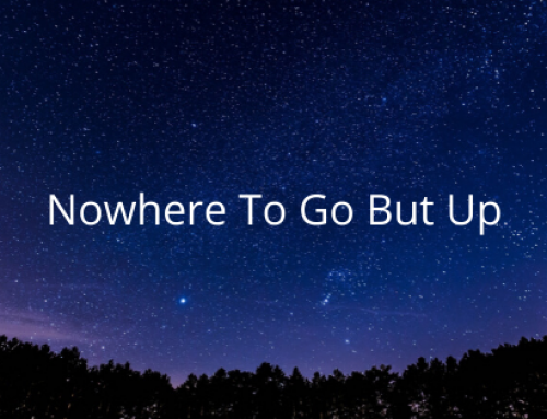 Nowhere To Go But Up